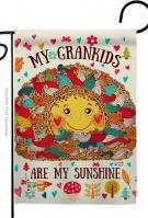 Grandkids Are My Sunshine Garden Flag