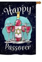 Happy Passover House Flag