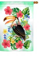 Tropical Toucan House Flag