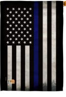 USA Thin Blue Line Decorative House Flag