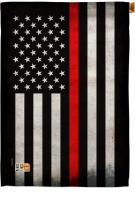 USA Thin Red Line Decorative House Flag