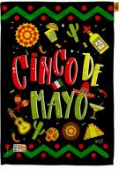 Ready To Cinco de Mayo House Flag