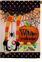 Witches Welcome House Flag