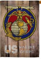 US Marine Corps Decorative House Flag