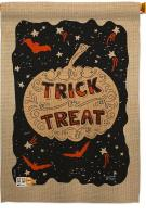 Eerie Trick Or Treat House Flag