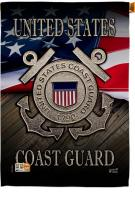 US Coast Guard Decorative House Flag