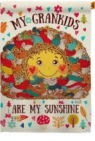 Grandkids Are My Sunshine House Flag