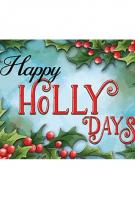Holly Days Mat
