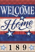 Military Family Garden Address Flag