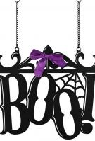 Boo Metal Garden Flag