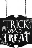 Trick or Treat Metal Garden Flag