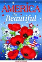 America The Beautiful Garden Flag