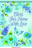 Blue Blossom Blessings Garden Flag