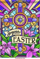 Joyous Easter House Flag