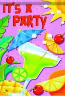 It\'s A Party House Flag