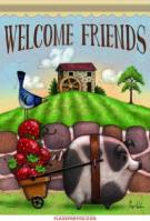 Farm Friends Garden Flag