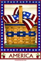 America Basket House Flag