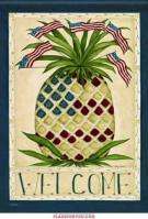 Patriotic Pineapple Garden Flag
