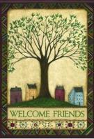 Welcome Tree House Flag