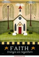 Faith House Flag