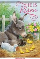 Easter Donkey Dura Soft House Flag