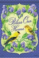 Goldfinch Blessing Dura Soft Garden Flag
