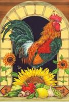 Proud Rooster Dura Soft Garden Flag