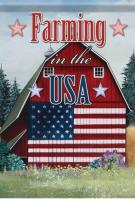 USA Barn Dura Soft Garden Flag