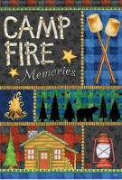 Campfire Memories Dura Soft House Flag