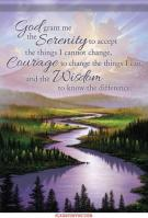 Serenity Prayer Dura Soft Garden Flag