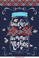 Southern Summer Nights Dura Soft Garden Flag