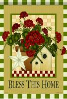 Country Trio Garden Flag