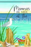 Beach Memories Garden Flag