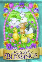 Easter Friends Garden Flag