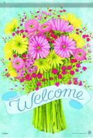 Spring Bouquet Dura Soft Glitter Garden Flag
