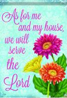 Serve The Lord Garden Flag