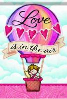 Love Is In The Air Garden Flag