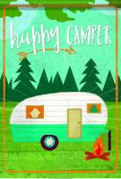 Happy Camper House Flag