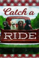 Catch A Ride House Flag