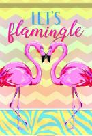 Let\'s Flamingle House Flag