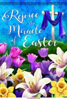 Miracle Of Easter House Flag