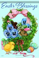 Easter Blessing Basket House Flag