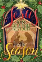 Jesus/Reason Garden Flag