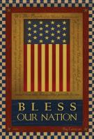 Bless Our Nation Garden Flag