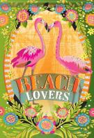Beach Lovers House Flag