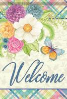 Bright Welcome Garden Flag