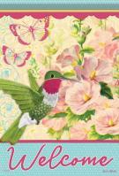 Spring Wings Garden Flag