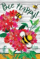 Just Buzzin\' Garden Flag