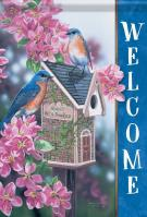 Bluebird Bed & Breakfast Garden Flag