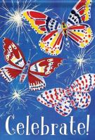 Butterfly Celebration Garden Flag